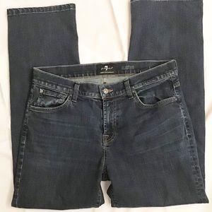 7 FAMK Austyn Luxe Performance Size 34 Jean